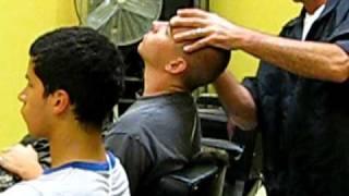 Marine Recruits get a hair cut, part 2
