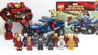 "getlinkyoutube.com-【レゴ】""コズミックキューブからの脱出""と手持ちのアイアンマンスーツを全部紹介します‼︎ LEGO MARVEL SUPERHEROES IRONMAN (AVENGERS)"