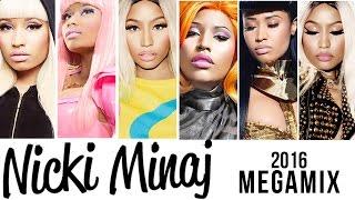 getlinkyoutube.com-Nicki Minaj Megamix [2016]