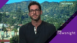 Lucifer actor Tom Ellis on saving the show - BBC Newsnight