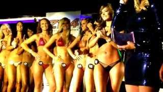 getlinkyoutube.com-Hooters 2013 Bikini Pageant - Round Two - Swimsuits