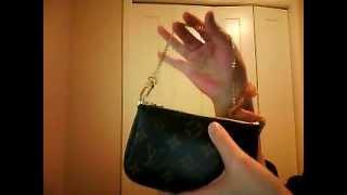 getlinkyoutube.com-1 wallet tag - Louis Vuitton Mini Pochette
