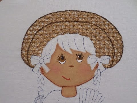 Bordado Fantasía Sombrero China Poblana # 2