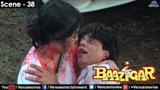 getlinkyoutube.com-Sharukh Khan dying (Baazigar)