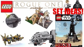 getlinkyoutube.com-LEGO Star Wars Rogue One Set Ideas! (2017/2018 LEGO Star Wars Set Ideas!)