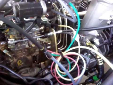 Где в TaGAZ Вега фильтр двигателя
