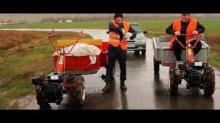 getlinkyoutube.com-Top Gear (Топ Гир) гонки по русски Чувашия на мотоблоках / Top Gear on village