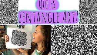 ¿Qué es ZENTANGLE ART?