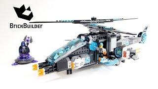 getlinkyoutube.com-Lego Ultra Agents 70170 UltraCopter vs. AntiMatter - Lego Speed Build