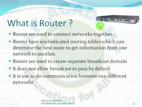 Basic Networking Fundamentals in Urdu (VPN VLAN Network Devices) Part 04