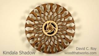 getlinkyoutube.com-Kindala Shadow  - spring driven kinetic sculpture by David C. Roy