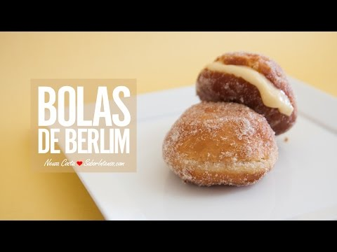 Receita de Bolas de Berlim