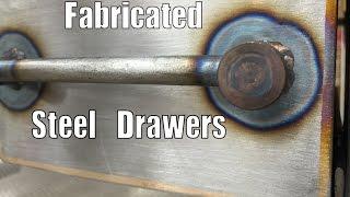 getlinkyoutube.com-Metalwork Monday - Fabricated Steel Drawers
