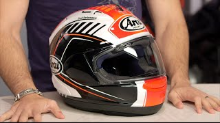 getlinkyoutube.com-Arai Corsair X Rea Helmet Review at RevZilla.com