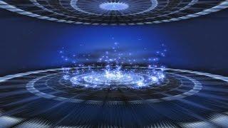 getlinkyoutube.com-60fps 4K 2160p Blue Sparkling Hypnotic Stage Motion Background