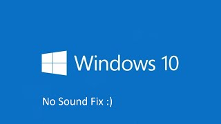 getlinkyoutube.com-Windows 10 - No Sound Fix
