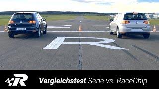 getlinkyoutube.com-Vergleichstest VW Golf VII - Serie vs. RaceChip One