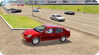 getlinkyoutube.com-Renault Symbol City Car Driving (Sport Driving)