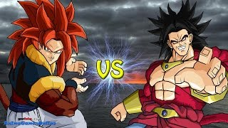 Super Saiyan 4 Broly vs Super Saiyan 4 Gogeta - Road to Dragon Ball Xenoverse (FINALE)