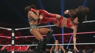 getlinkyoutube.com-Brie Bella vs. Alicia Fox: Raw, Sept. 30, 2013