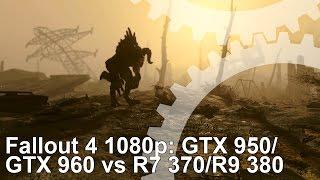 getlinkyoutube.com-Fallout 4 PC: GTX 950/ GTX 960 vs R9 380/ R7 370 Frame-Rate Test