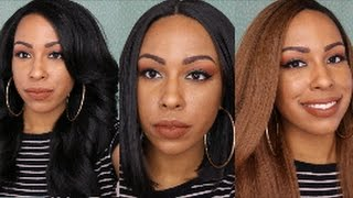 getlinkyoutube.com-My Favorite Synthetic Wigs of 2016! | Under $50! | TheHeartsandcake90