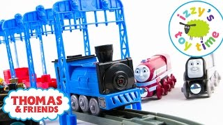 getlinkyoutube.com-Thomas and Friends | Thomas Train with CAT Trains, Brio Trains, Imaginarium Toy Trains, and more!