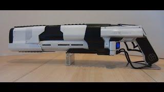 getlinkyoutube.com-CO2 Laser Rifle Prototype Mk I BURNING GLASS, MELTING ICE (Directors Cut)