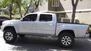 "getlinkyoutube.com-Toyota Tacoma 2007 Lifted 3"" Total Chaos ICON Stage II,Toyo 33"" MT Tires,15%Tint"