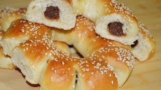 getlinkyoutube.com-خبز بالتمر والسمسم Baking With Chef Ahmad/ Dates Bread
