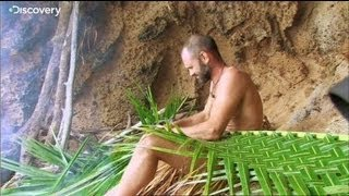 getlinkyoutube.com-Building a Home - Ed Stafford: Naked and Marooned