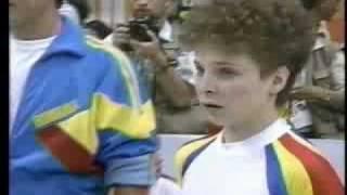 getlinkyoutube.com-Daniela Silivas UB 1988 Seoul Team Free