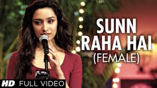 "getlinkyoutube.com-""Sun Raha Hai Na Tu Female Version"" By Shreya Ghoshal Aashiqui 2 Full Video Song 