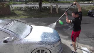 getlinkyoutube.com-How to Wash Plasti Dipped Cars - Dip Foam Cannon Wash System