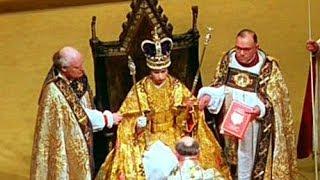 getlinkyoutube.com-1953. Coronation of Queen Elizabeth II: 'The Crowning Ceremony'