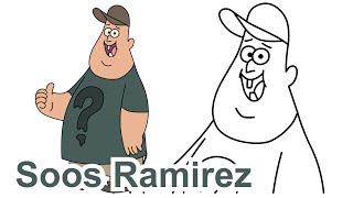 getlinkyoutube.com-How to draw Soos Ramirez Gravity Falls Disney - Como dibujar Gravity Falls