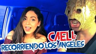 CAELI y Super Escorpión Dorado al volante!