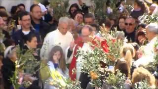 Video: La Benedizioni delle Palme nella Piazzetta di Capri 2016