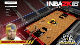 getlinkyoutube.com-NBA 2K16 PRO AM | The Booty Snatchas | New Arena & Logo