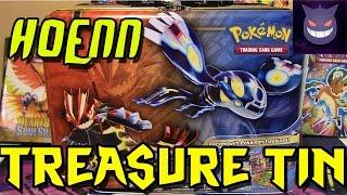 getlinkyoutube.com-Pokemon Cards- Hoenn Collection Treasure Tin! (FULL ART PULL!)