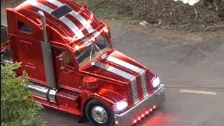 getlinkyoutube.com-RC Truck Course Fire Service ♦ LKW Feuerwehr ♦ Intermodellbau Dortmund 2015 Modellbaumesse