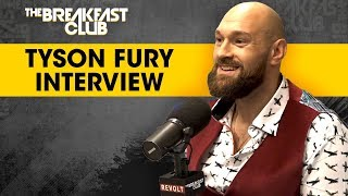 Tyson Fury Opens Up About Mental Health, Overcoming Alcoholism & Fighting Deontay Wilder width=