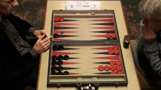 getlinkyoutube.com-2011 Leuven Open Backgammon: final