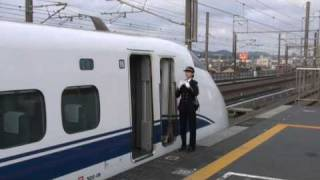 getlinkyoutube.com-新幹線300系こだま女性車掌