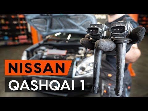 Как заменить катушки зажигания наNISSAN QASHQAI 1 (J10) (ВИДЕОУРОК AUTODOC)