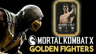 getlinkyoutube.com-Mortal Kombat X Mobile - Golden Fighters unlocked (Huntah Replay iOS Gameplay)