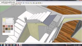 getlinkyoutube.com-Google Sketchup Demonstrations and Tutorials #7 (Farm House)