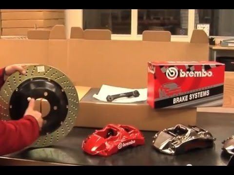 Big Brake Kit Brembo BBK GT-R - Накладки, спирачни дискове