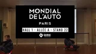 Rejoignez le GARAC au Mondial de l'Auto, de la Moto et de la Mobilité