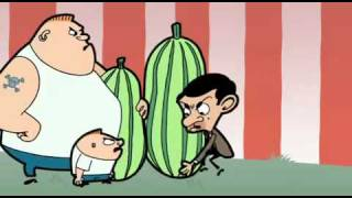 getlinkyoutube.com-Mr  Bean Animated Series Super marrow Part2
